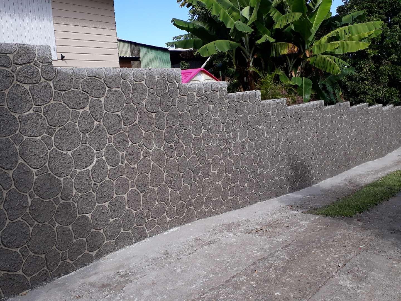 Enduit décoration mur 2